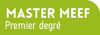 Bouton Master MEEF premier degré