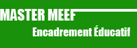 Bouton Master MEEF encadrement éducatif