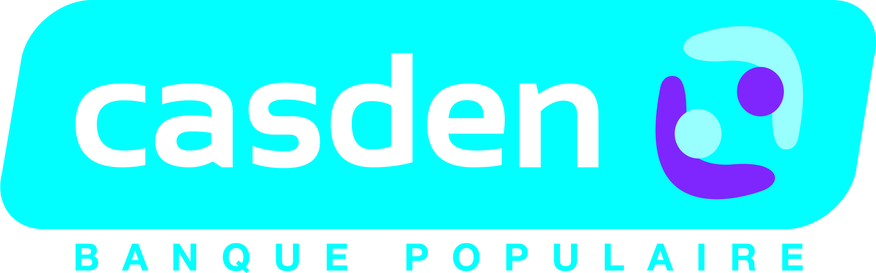 Logo de la CASDEN Banque Populaire