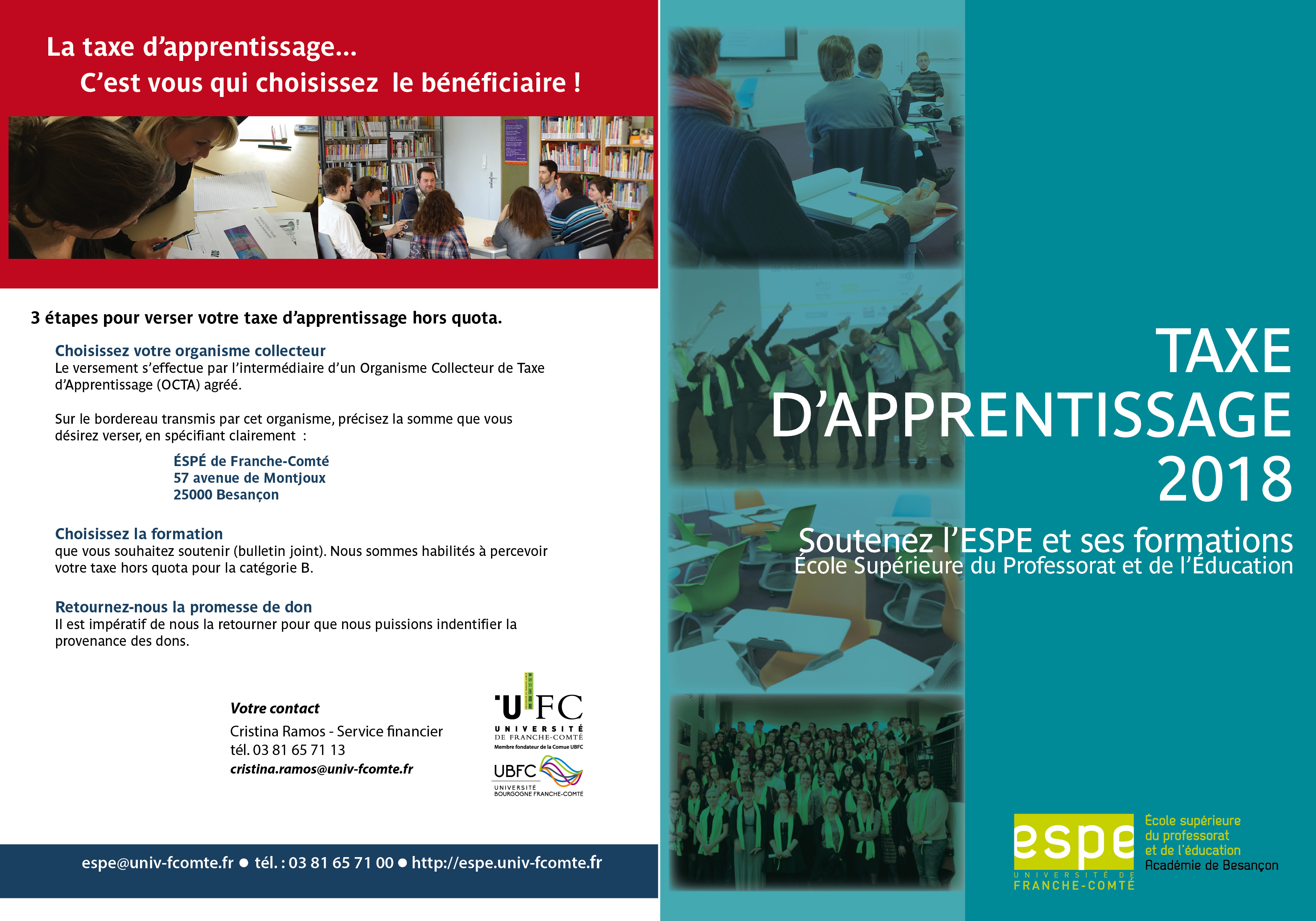 Document taxe d'apprentissage